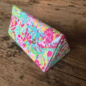 NEW Lilly Pulitzer sunglasses case